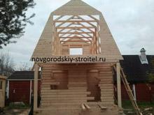 Как сделать мансардную крышу для бани 162